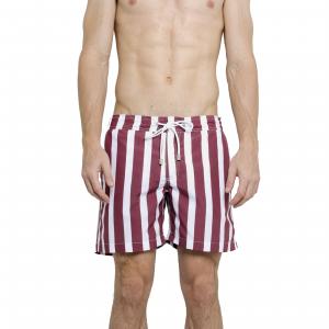 Shorts Masculino Praia Rayas Vinho
